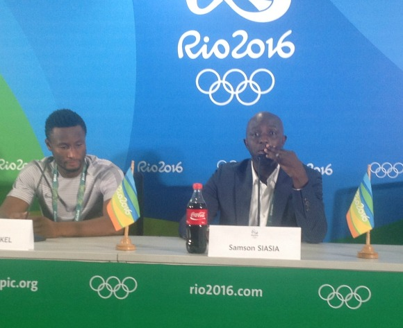 Siasia takes aim at Germany, salutes his defence
