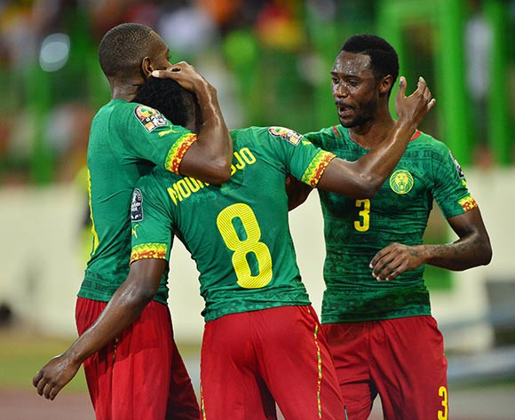 Cameroon finish in style