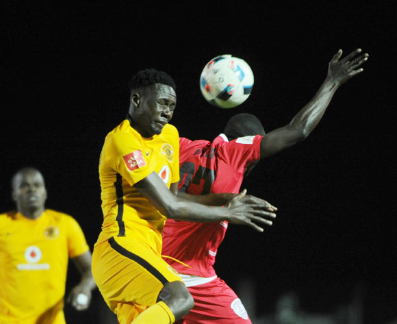 Erick Mathoho of Kaizer Chiefs challenges Hamisi Kizza of Free State Stars during the Absa Premiership match between Free State Stars and Kaizer Chiefs on the  28 September 2016 at James Motlatsi  Stadium  Pic Sydney Mahlangu/ BackpagePix