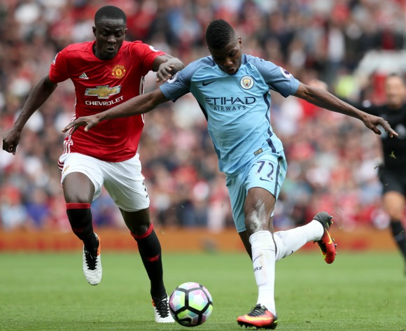 Youngest ever City derby scorer Iheanacho beats Manchester United