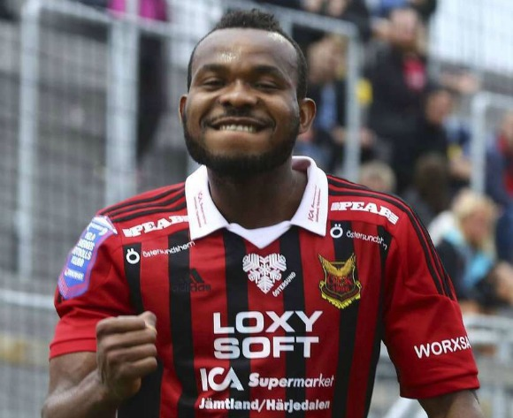 Michael Omoh thrilled to score first goal for Swedish club
