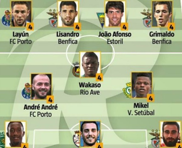 On-form Mikel Agu makes Team of the Week in Portugal