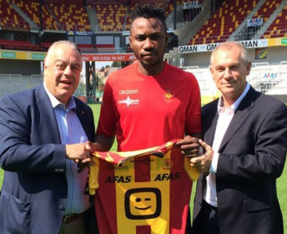 Osaguona waits on FIFA to debut for new Belgian club
