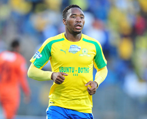 Sibusiso Vilakazi of Mamelodi Sundowns during the 2016 Telkom Knockout match between Mamelodi Sundowns and Polokwane City at the Lucas Moripe Stadium in Pretoria on the 27 October 2016©Samuel Shivambu/Backpagepix