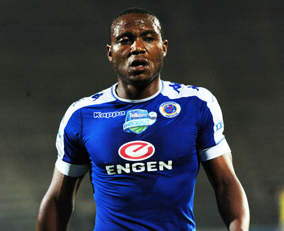 Thuso Phala of Supersport United during the 2016 Telkom Knockout Cup match between Supersport United and Ajax Cape Town at Lucas Moripe Stadium on 22 October 2016 ©Aubrey Kgakatsi/BackpagePix