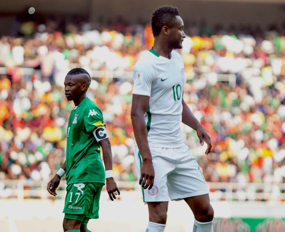 Nigeria 60th in FIFA Rankings, up 4 spots