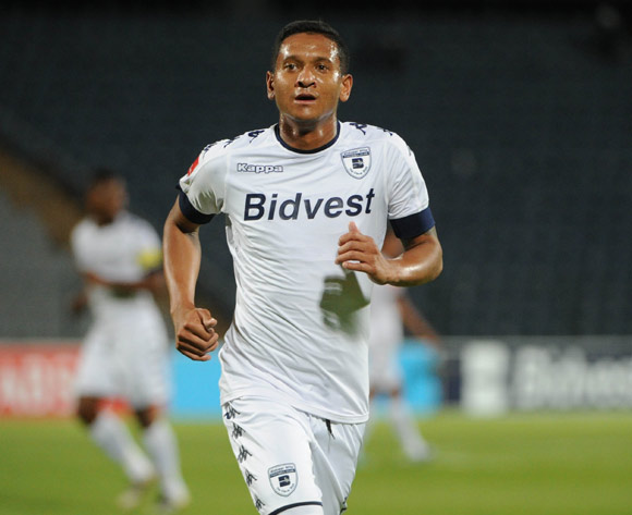 Daine Klate of Bidvest Wits  during the Absa Premiership match Pic Sydney Mahlangu/ BackpagePix