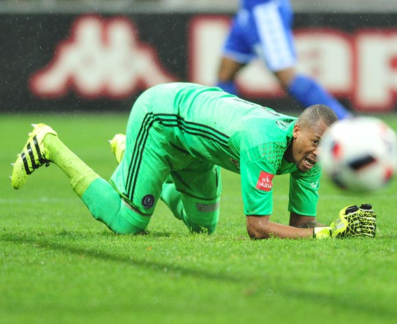 Brighton Mhlongo of Orlando Pirates  during the Absa Premiership match between Supersport United and Orlando Pirates at Loftus Stadium, November on 01 November 2016 © Samuel Shivambu/BackpagePix