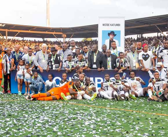 TP Mazembe are the champions of the Confederation Cup