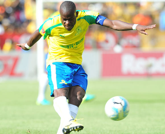 Hlompho Kekana of Mamelodi Sundowns during the Absa Premiership match between Mamelodi Sundowns and Kaizer Chiefs at the Loftus Stadium in Pretoria on the 19 November 2016©Samuel Shivambu/Backpagepix