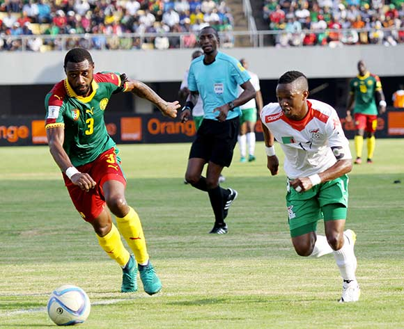 during 2018 World Cup Qualifiers match between Cameroon and Zambia at Limbe Omnisports Stadium in Limbe November on the 12 November 2016 ©/BackpagePix