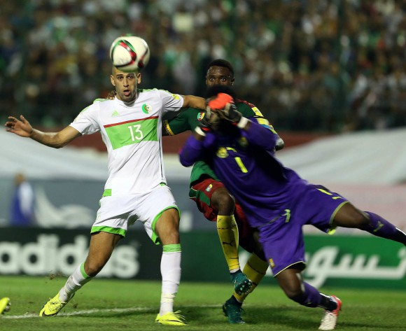 Algeria name team vs Nigeria, Mahrez, Slimani to start