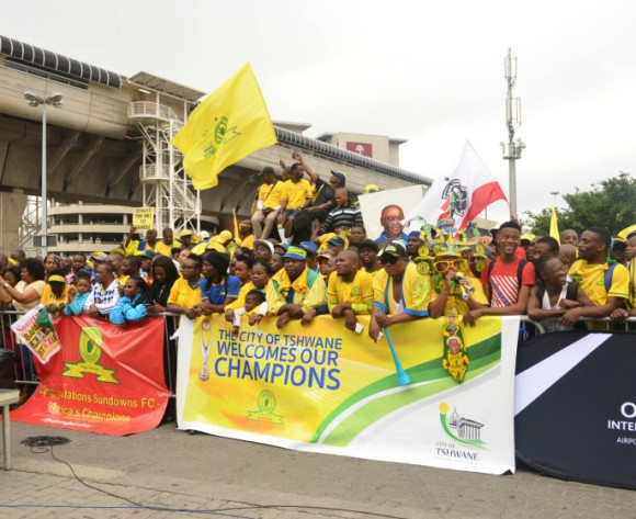 Mamelodi Sundowns dedicate SA Sports Award to supporters