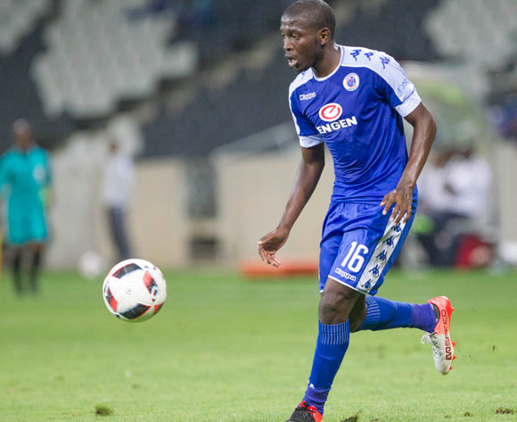 Aubrey Modiba of Supersport United during the Absa Premiership 2016/17 game between Supersport United and Bidvest Wits at Mbombela Stadium, Mpumalanga on 29 November 2016 © BackpagePix