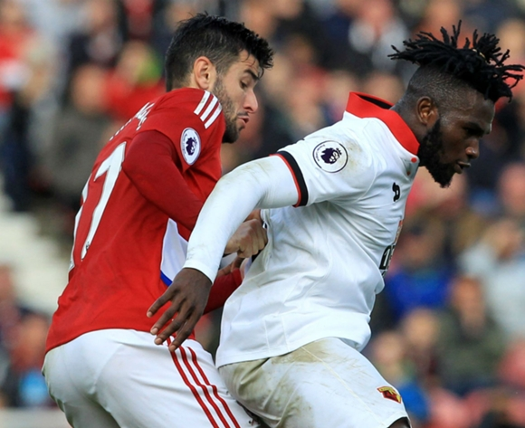 Watford say no return date yet for injured Isaac Success