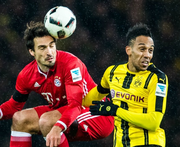 Aubameyang inflicts first defeat on Bayern in Der Klassiker