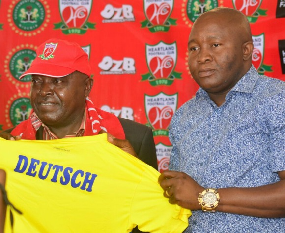 Cameroonian coach Deutsch tasked to lead Heartland back to top league