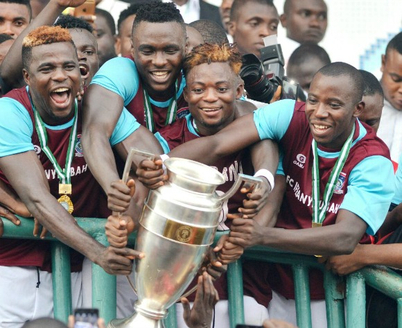 Billionaire club FC IfeanyiUbah clinch Nigeria Fed Cup