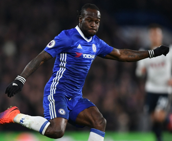 Victor Moses helps Chelsea set new record of 12 straight wins