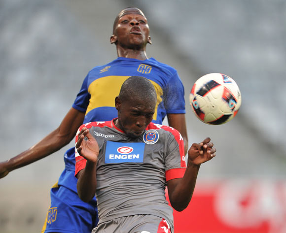 Aubrey Modiba of Supersport United during the 2016 ABSA Premiership match between Cape Town City FC and Supersport United at the Cape Town Stadium,CAPE TOWN, on 16 December 2016  ©Luigi Bennett/BackpagePix