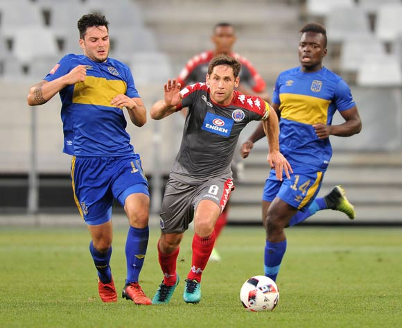 Dean Furman of Supersport United during the 2016 ABSA Premiership match between Cape Town City FC and Supersport United at the Cape Town Stadium,CAPE TOWN, on 16 December 2016  ©Luigi Bennett/BackpagePix