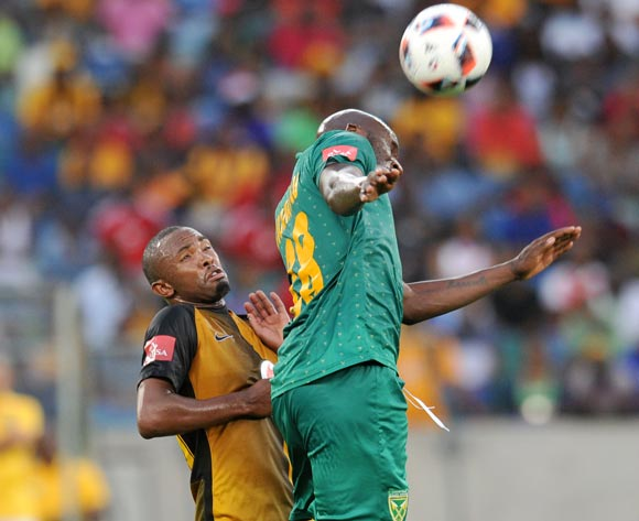 Bernard Parker of Kaizer Chiefs challenged by Musa Bilankulu of Golden Arrows during the Absa Premiership 2016/17 match between Golden Arrows and Kaizer Chiefs at Moses Mabhida Stadium, Durban South Africa on 21 December 2016 ©Muzi Ntombela/BackpagePix
