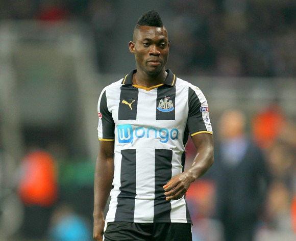 Christian Atsu wants Newcastle stay