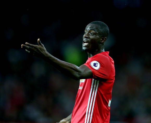 Ivorian Eric Bailly back in Man United training