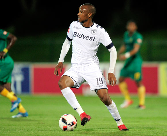Xola Mlambo of Bidvest Wits during the Absa PSL 2016/17 game between Golden Arrows v Bidvest Wits at Princess Magogo Stadium, KwaZulu-Natal on 14 December 2016 © Gerhard Duraan/BackpagePix