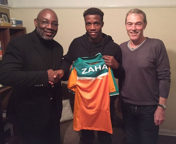 Wilfried Zaha Snubs England For Cote d'Ivoire