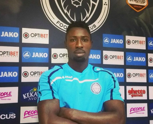James Audu targets goals for Latvian club Riga FC after he gets permit