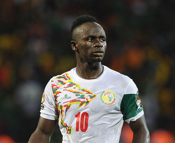 Sadio Mane of Senegal reacts in disappointment for missing a penalty during the Afcon Quarter Final match between Senegal and Cameroon on the 28 January 2017 at Franceville , Gabon Pic Sydney Mahlangu/ BackpagePix