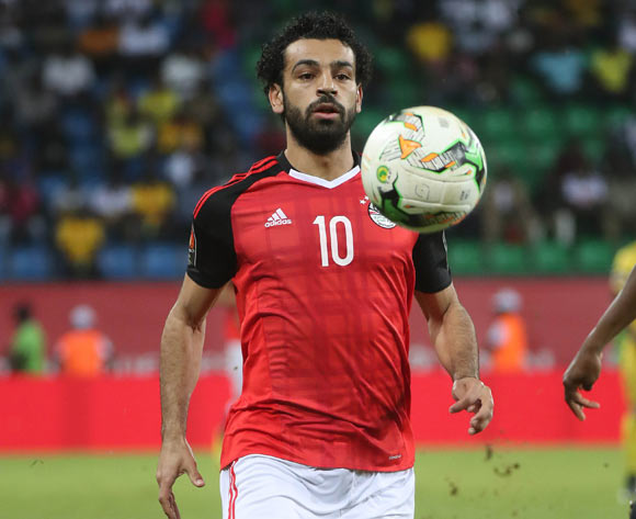 Mohamed Salah of Egypt during the 2017 Africa Cup of Nations Finals football match between Mali and Egypt at the Port Gentil Stadium in Gabon on 17 January 2017 ©Chris Ricco/BackpagePix