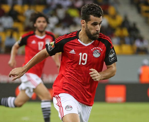 Abdallah Bekhit of Egypt during the 2017 Africa Cup of Nations Finals football match between Mali and Egypt at the Port Gentil Stadium in Gabon on 17 January 2017 ©Chris Ricco/BackpagePix