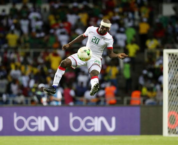 Yacouba Coulibaly of Burkina Faso during the 2017 African Cup of Nations Finals Afcon football match between Gabon and Burkina Faso at the Libreville Stadium in Gabon on 18 January 2017 ©Gavin Barker/BackpagePix