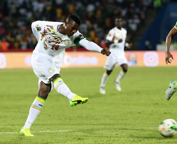 Keita Balde of Senegal during the 2017 African Cup of Nations Finals Afcon football match between Senegal and  Zimbabwe at the Franceville Stadium in Gabon on 19 January 2017 ©Gavin Barker/BackpagePix