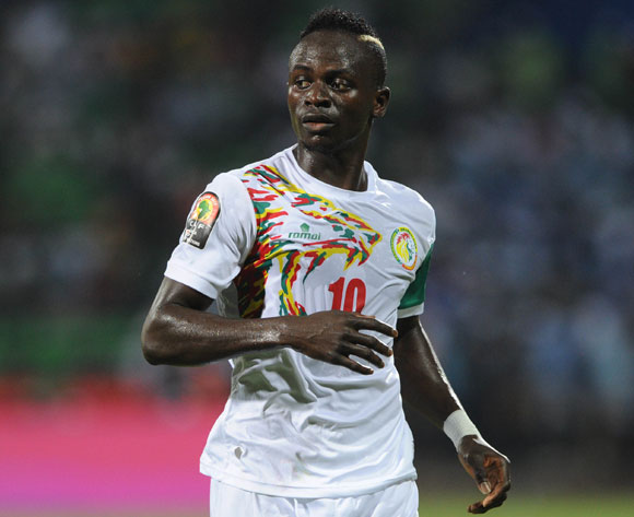 Sadio Mane of Senegal during the Afcon Group B match between Senegal and Zimbabwe  on the 19 January 2017 at Franceville Stadium, Gabon Pic Sydney Mahlangu/ BackpagePix