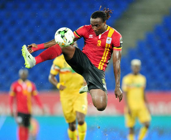 Geofrey Kizito of Uganda during the 2017 Africa Cup of Nations Finals match between Uganda and Mali at the Oyem Stadium in Gabon on 25 January 2017 ©Samuel Shivambu/BackpagePix