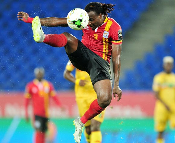 Geoffrey Kizito of Uganda during the 2017 Africa Cup of Nations Finals match between Uganda and Mali at the Oyem Stadium in Gabon on 25 January 2017 ©Samuel Shivambu/BackpagePix