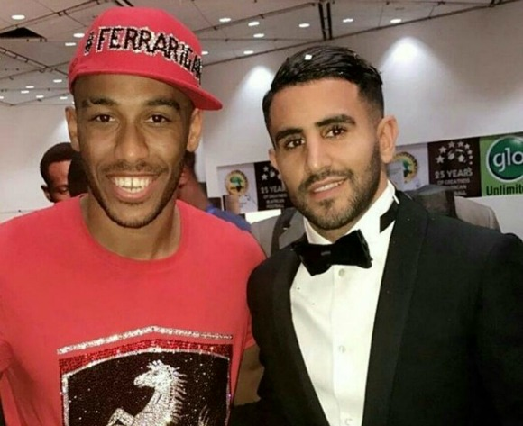 CAF explain Aubameyang t-shirt and face cap look at awards