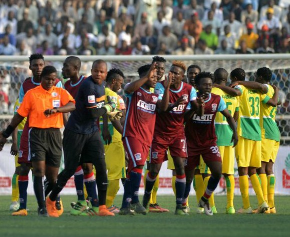 Was controversial ref Folusho Ajayi to blame for disgraceful NPFL opener?