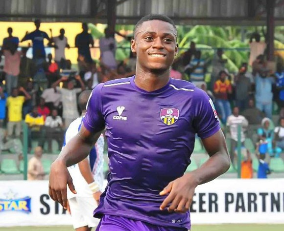 Stephen Odey eyes NPFL Goal King crown after season's first hat-trick