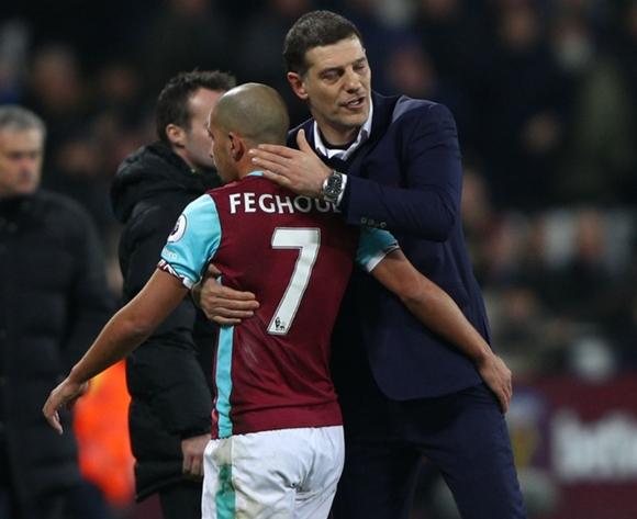 Sofiane Feghouli could be leaving West Ham