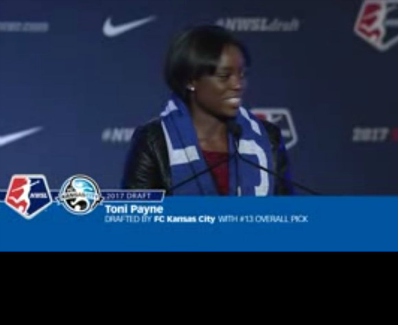 Super Falcons-to-be Toni Payne picked by Kansas City in NWSL Draft