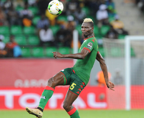 Aristide Bance of Burkina Faso during the 2017 Africa Cup of Nations Finals 3&4 match playoff between Burkina Faso and Ghana at the Port Gentil  in Gabon on 04 February 2017 ©Sydney Mahlangu/BackpagePix