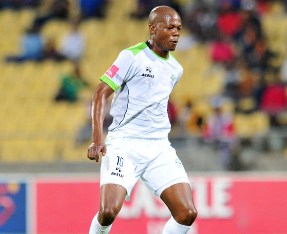 Ndumiso Mabena of Platinum Stars ©Muzi Ntombela/BackpagePix