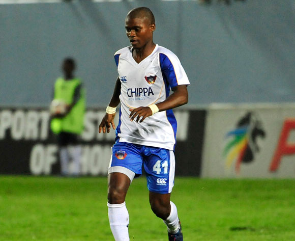 Menzi Masuku of Chippa United during the Absa Premiership 2016/17 game between Chippa United and Mamelodi Sundowns Sisa Dukashe Stadium, East London on 14 February 2017 © Deryck Foster/BackpagePix
