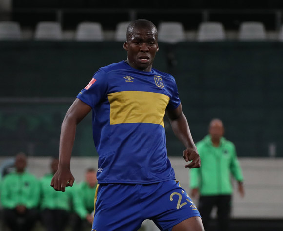 Mpho Matsi of Cape Town City FC during the Absa Premiership 2016/17 football match between Cape Town City FC and Orlando Pirates at Cape Town Stadium, Cape Town on 18 February 2017 ©Chris Ricco/BackpagePix