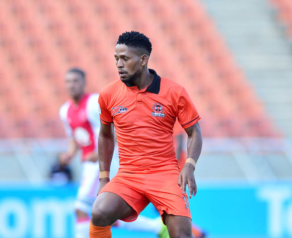 Edgar Manaka of Polokwane City during the Absa Premiership 2016/17 match between Polokwane City and Ajax Cape Town at Peter Mokaba Stadium, Polokwane South Africa on 18 February 2017 ©Samuel Shivambu/BackpagePix