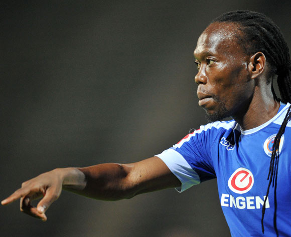 Reneilwe Letsholonyane of Supersport United during the Absa Premiership 2016/17 match between Supersport United and Maritzburg United at Lucas Moripe Stadium, Pretoria  South Africa on 22 February 2017 ©Muzi Ntombela/BackpagePix